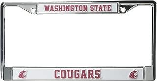 NCAA Washington State Cougars Chrome Plate Frame