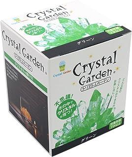 不思議 水の中でクリスタルが育つ クリスタル ガーデン グリーン
