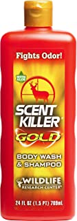 Wildlife Research Center Scent Killer Gold Scent Elimination Body Wash and Shampoo
