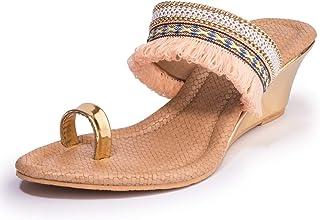 Khadims Women Ethnic Heel Sandal