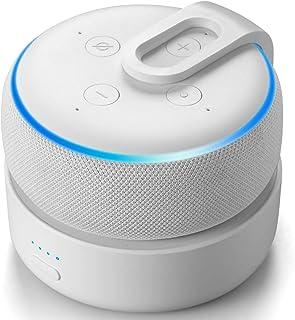 Novo Base de bateria GGMM D3+ para Echo Dot 3ª geração, uso livre Dot 3rd na cozinha, banheiro, varanda ou jardim, Atualiz...