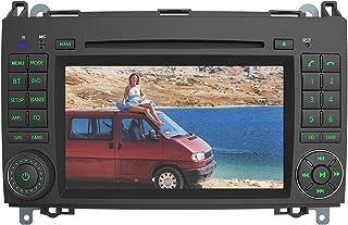 AWESAFE Radio Coche 7 Pulgadas con Pantalla Táctil 2 DIN para Mercedes-Benz, Autoradio para Clase A W169/Clase B W245/Clas...