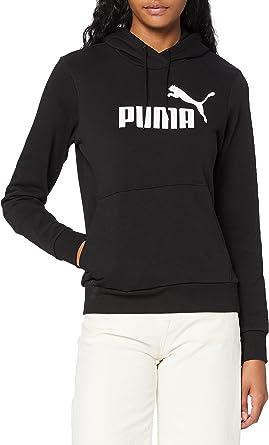 PUMA ESS Logo Hoody TR Sudadera Mujer