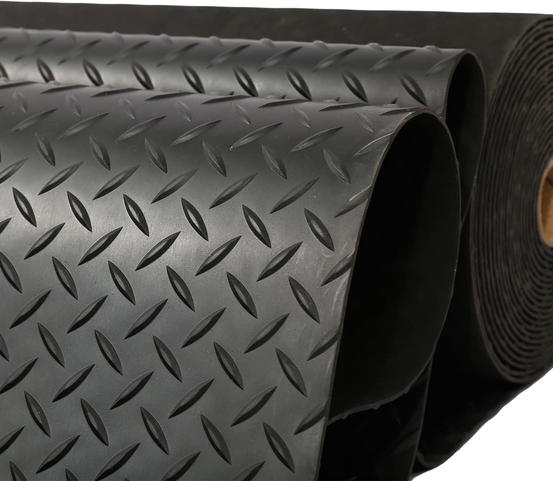 Fashion tonchean Garage Floor Rubber Mat Heavy x 3.3ft Duty 16.4 Max 81% OFF