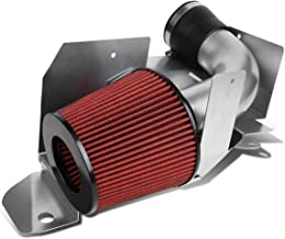 For VW Golf/Jetta/Audi A3 2.0L TDI Silver Coated Aluminum Cold Air Intake Pipe + Heat Shield + Filter
