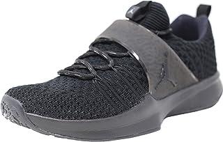 wholesale dealer 20416 944d9 Nike Jordan Men s Trainer 2 Flyknit, Black Black-Metallic Silver ...