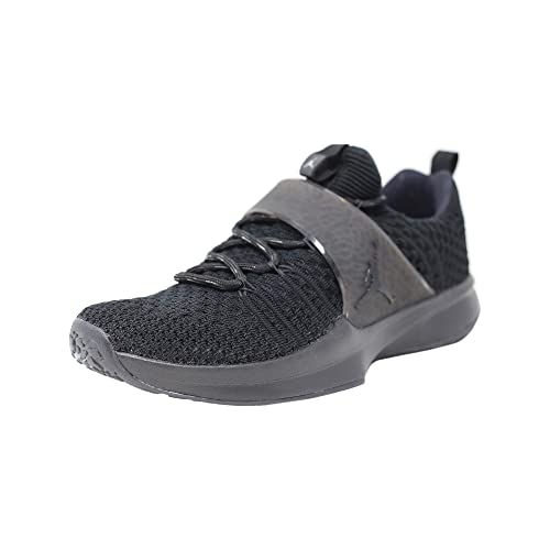 info for f4111 06cb0 Nike Jordan Men s Trainer 2 Flyknit, Black Black-Metallic Silver (11)