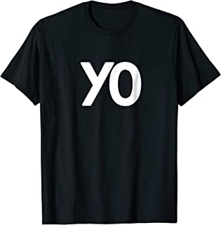 """T-Shirt That Just Says """"Yo"""" for All Ages"""