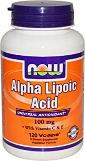 Now Foods, Alpha Lipoic Acid, 100 mg, 120 Vcaps