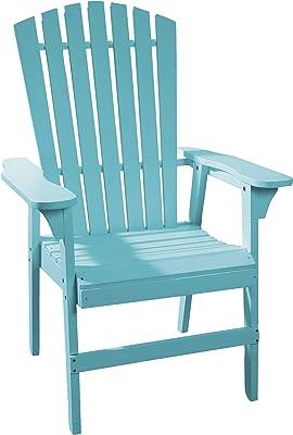 Amazon.com : Adams 8371-21-3700 Resin Ergo Adirondack Chair ...