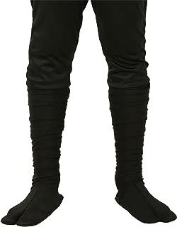 Child Sized Ninja Boots Kid's Split-Toe Ninja Costume Shoes
