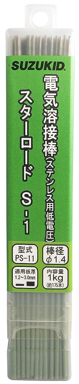 きらきらステープル道路スズキッド(SUZUKID) S-1 1.4φ*230mm 1kg PS-11