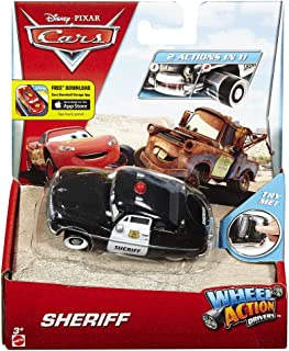 Disney Pixar Cars Wheel Action Drivers Sheriff Vehicle