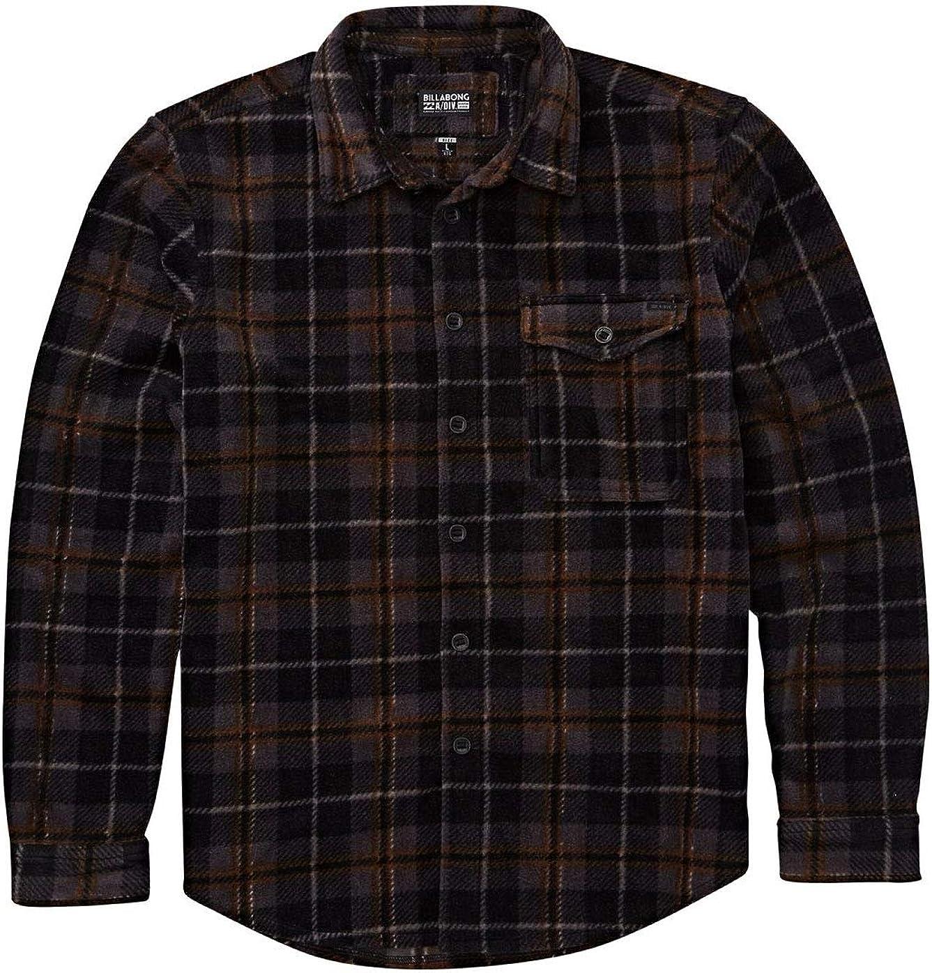 Billabong Camisas de franela de horno para hombre