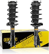 OREDY Front Left & Right Complete Struts Assembly Coil Spring Assembly Kit Shock Absorber Replacement for Honda Civic Sedan 2006 2007 2008 2009 2010 2011#11815 11816 172287 172287 1331629L 2331629L