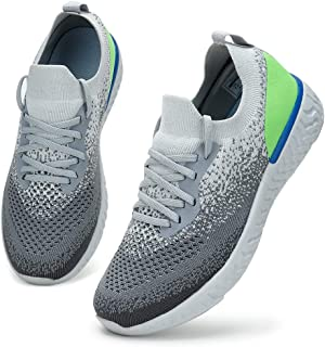 HKR Basket Femme Confort Chaussure de Running Marche Sport Casual Fitness Sneakers