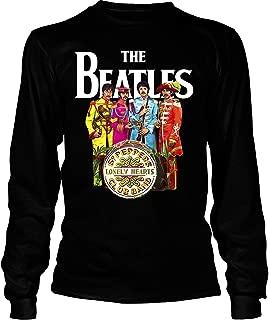Vintage The Beatles Band Tee, English rock band Shirt, Sgt. Pepper's Lonely Hearts Club Band Shirt - Long Sleeve Tees