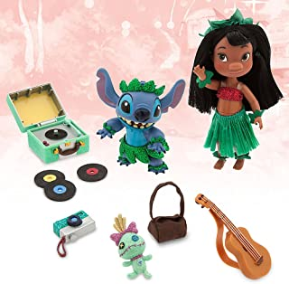 Disney Animators' Collection Lilo & Stitch Mini Doll Play Set - 5 Inch