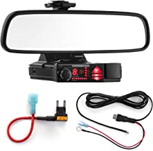 $41 » Radar Mount Mirror Mount Bracket + Direct Wire Power Cord + Mini Fuse Tap for Valentine V1 (3001404)