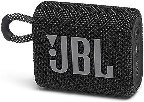 JBL GO 3 Bluetoothスピーカー USB C充電/IP67防塵防水/パッシブラジエーター搭載/ポータブル/2020年モデル ブラック JBLGO3BLK 【国内正規品/メーカー 付き】