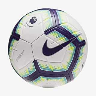 cb94a5737dadf NIKE 2018-2019 EPL Strike Soccer Ball White Blue Purple