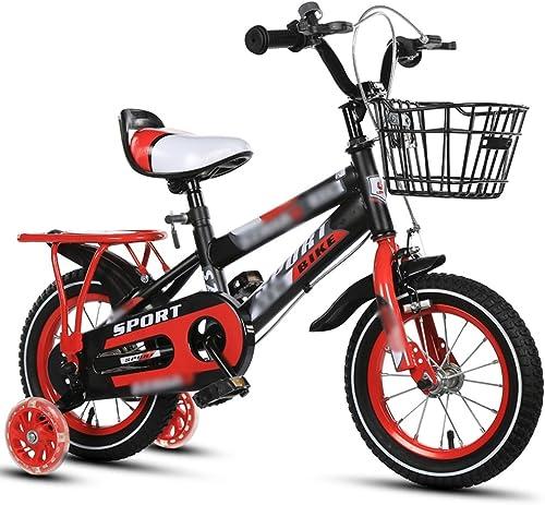 se descuenta Bicicletas para Niños Niños Niños Feifei 12 Pulgadas 14 Pulgadas 16 Pulgadas 18 Pulgadas naranja azul Asiento para Barras azules Altura del Asiento Ajustable (Color   rojo, Tamaño   14 Inch)  nuevo sádico