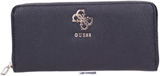Guess Digital SLG Large Zip Around, Accessori da Viaggio-Portafogli Donna, Black, One Size