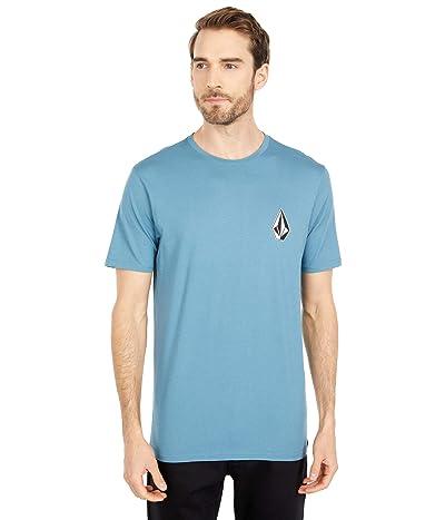 Volcom Deadly Stone Short Sleeve Tee (Horizon Blue) Men