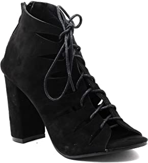 Shuberry SB-18067 Suede Gladiator for Party