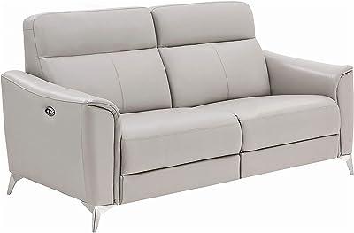 Coaster Home Furnishings Alberta Upholstered Power Light Grey Sofas