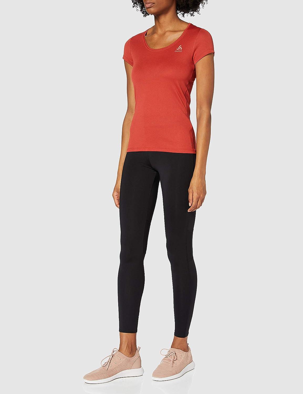 Odlo F-Dry Light Femmes fonction shirt avec col en V Noir Sport Linge