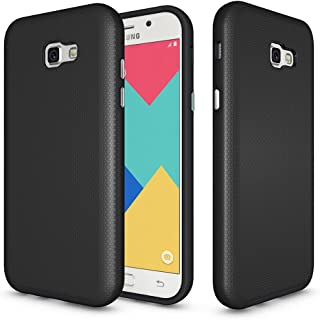 Galaxy A7 2017 Anti-skid Defender Case, ZUERCONG Slim Dots-Rugged Nonslip Shockproof Scratch-Resistant Anti-Fingerprints Protective Bumper Case Cover For Samsung Galaxy A7 2017 A720F 5.7