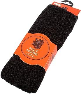 Manguera/calcetines de lana escocesa para hombre, varios colores disponibles
