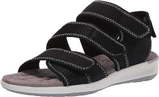 حذاء Walking Cradles نسائي Sabin أسود من الليكرا/شبكة 5. 5 M (B)