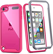 iPod Touch 7th Generation Case, IDweel Armor Shockproof Case Build in Screen Protector Heavy Duty Full Protection Shock Re...