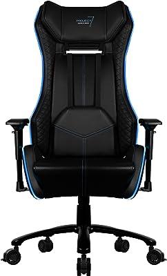 Aerocool Project7 Pro RGB - Silla Gaming (Iluminación RGB, reposabrazos) negro