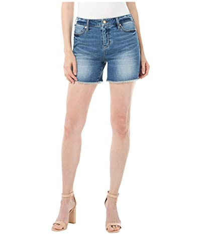 Liverpool Vickie Fray Hem Shorts (Arizona) Women