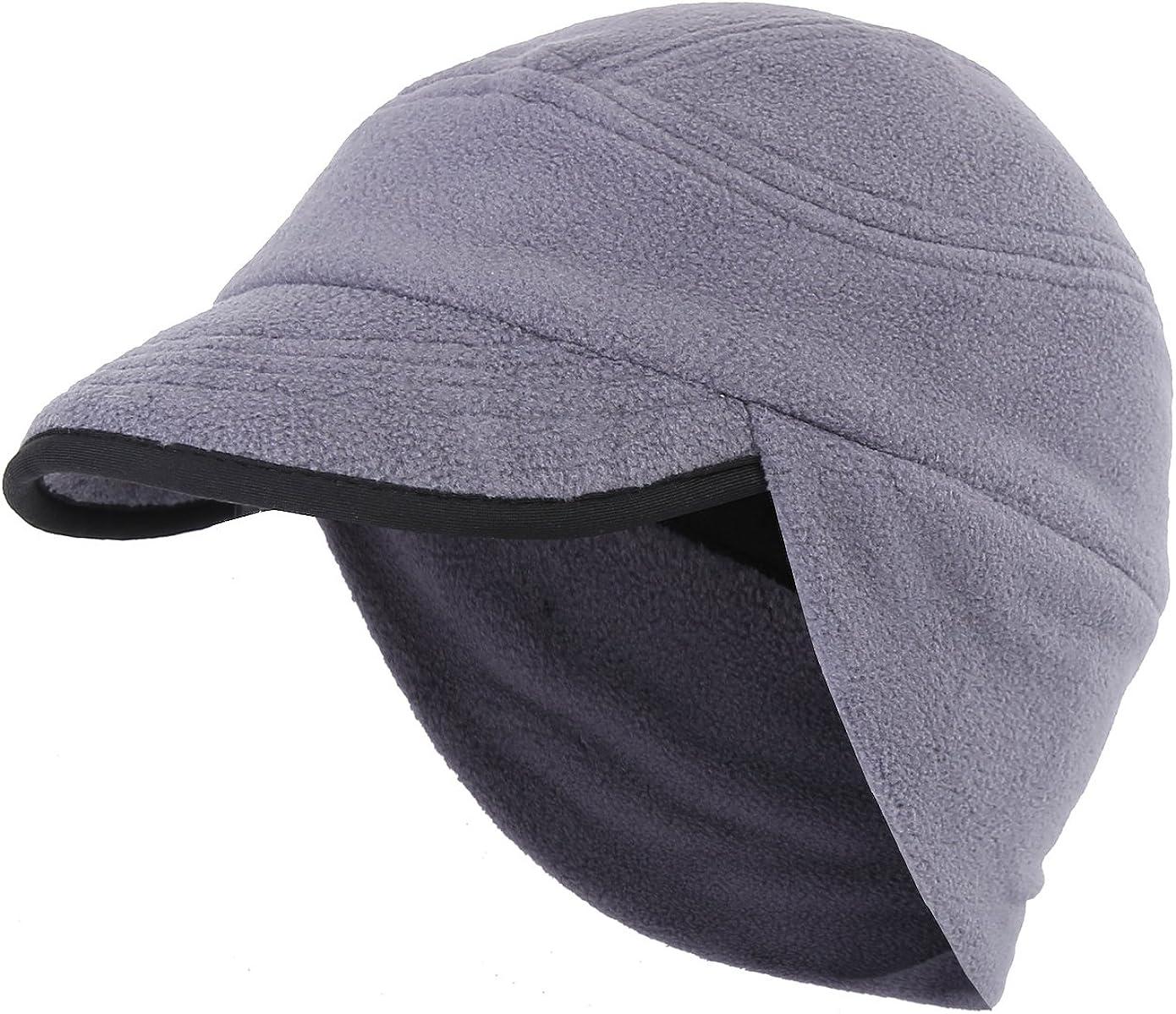 Unisex Mens Womens Outdoor Winter Earflap CLFYOU Winter Windproof Ear Flap Hats Winter Stylish Peak Cap