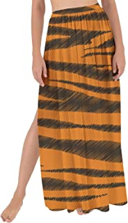 Rainbow Rules Tigger Stripes Winnie The Pooh Inspired Maxi Sarong Skirt