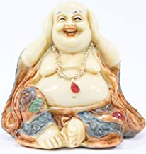 Feng Shui Hear No Evil Happy Face Laughing Buddha Figurine Home Decor Statue Gift / Birthday Gift / house warming gift We Pay Your Sales Tax.