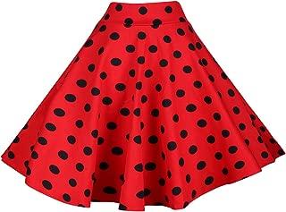 Best red and black polka dot skirt Reviews