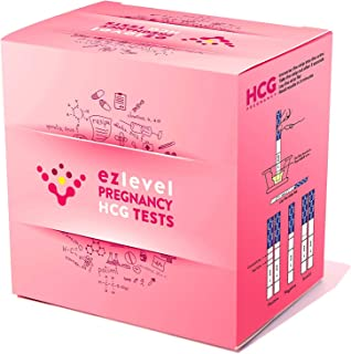 EZ Level 100 Pregnancy HCG Urine Test Strips (100 HCG)