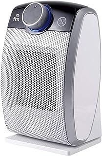 FM Calefactor cerámico, Gris, 26 cm