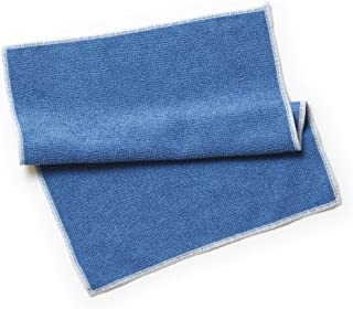 イーオクト MQ・Duotex 北欧 業務用 マイクロファイバー ブルー 30x35cm ニットクロス 水だけのお掃除 汚れ取り