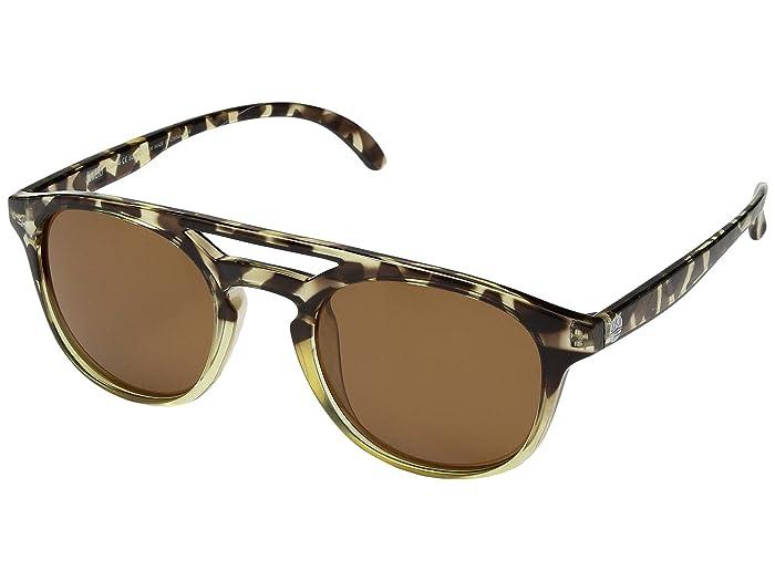 Sunski Olemas Lifestyle Collection (Tortoise/Amber) Sport Sunglasses