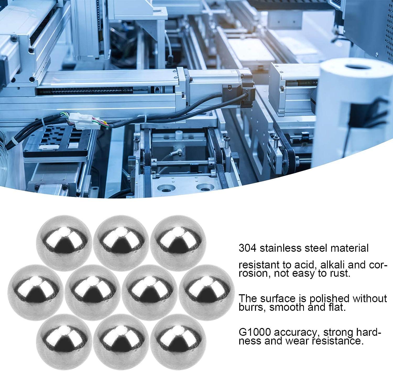 Kunststoffbeschl/äge Luft- und Raumfahrt Chemikalien 8mm 0,5 kg 304 G1000 Hochgenaues poliertes Oberfl/ächen-Industriezubeh/ör f/ür medizinische Ger/äte 304 Edelstahlkugeln