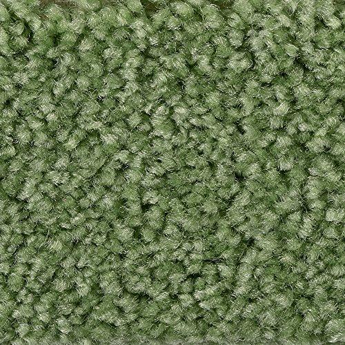 BODENMEISTER BM72182 Teppichboden Auslegware Meterware Hochflor Shaggy Langflor Velour grün 400 cm und 500 cm breit, verschiedene Längen, Variante: 2 x 4 m