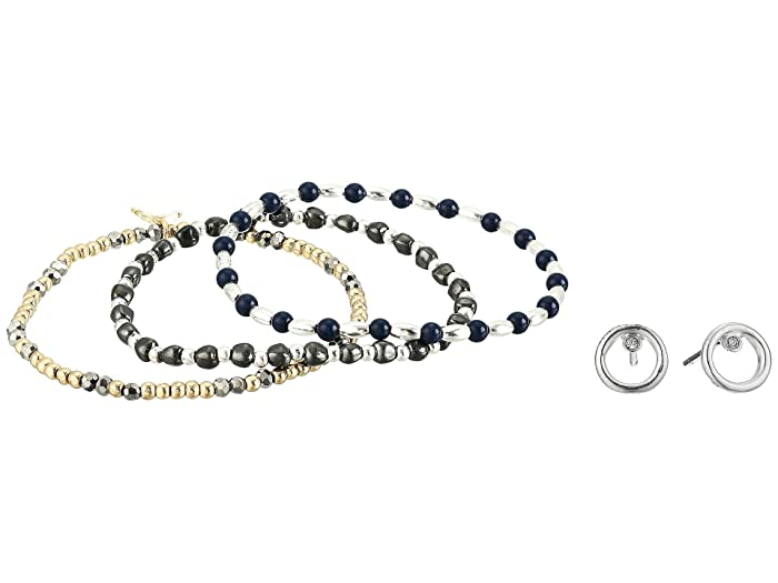 Lucky Brand  Bracelet and Earrings Set (Two-Tone) Jewelry Sets