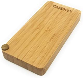 CASEBUDi Bamboo Wood Case Compatible with JUUL