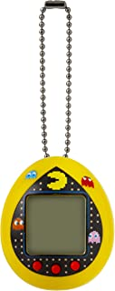 TAMAGOTCHI 42851 Nano-Pac-Man Yellow Version-Feed, Care, Nurture, with Chain for on The go Play-Electronic Pets